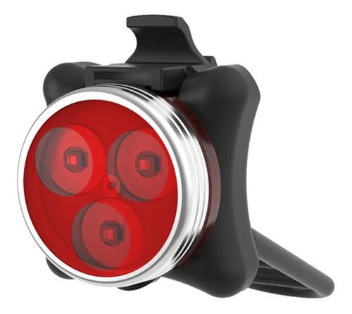 Imagem 1 de 4 de Lanterna Luz Traseira P/ Bike  Bateria Usb