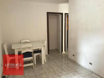 Apartamento Com 2 Dormitórios À Venda, 48 M² Por R$ 55.000 - Conjunto Guapiranga (cdhu) - Itanhaém/sp - Ap0194