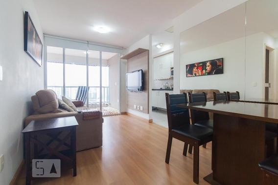 Apartamento No 19º Andar Mobiliado Com 1 Dormitório E 1 Garagem - Id: 892965188 - 265188