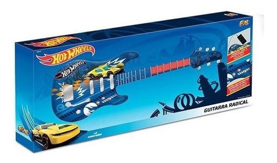 Guitarra Infantil Hot Wheels Fun 8422-4