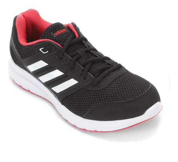 Tênis adidas Duramo Lite 2.0 - Masculino - Preto/vermelho