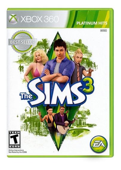 The Sims 3 - Xbox 360 - Novo - Mídia Física - Lacrado