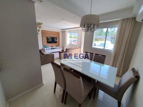 Casa Com 3 Dormitórios À Venda, 122 M² Por R$ 683.700,00 - Roncáglia - Valinhos/sp - Ca2297