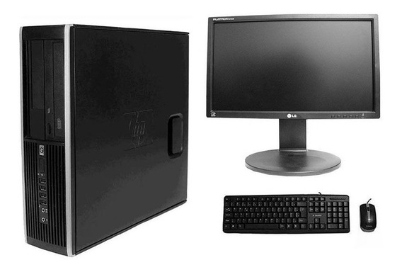 Computador Hp Elite 8200 I5 4gb 320hd Monitor 18,5 Polegadas