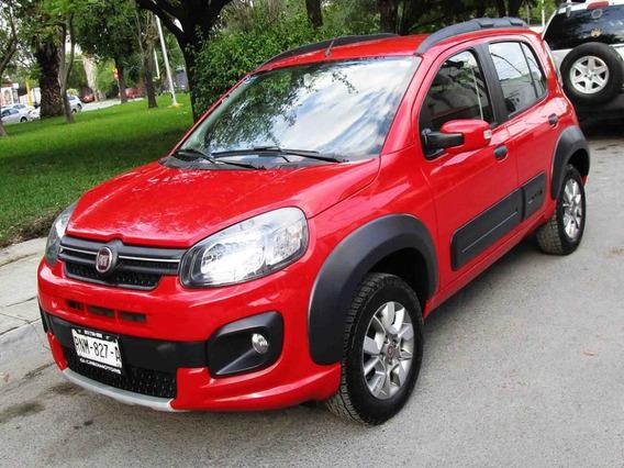 Fiat Uno Way 2018 Color Rojo
