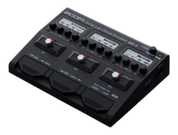 Interface De Áudio Zoom Gce-3 Para Guitarra E Baixo