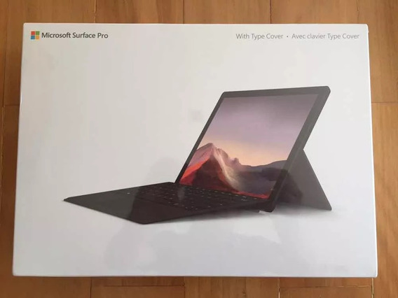 Surface Pro 7 2019 I5 8gb 256gb Preto + Teclado Original