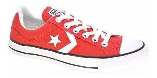 Zapatillas Converse Star Player Ox Red-157009c