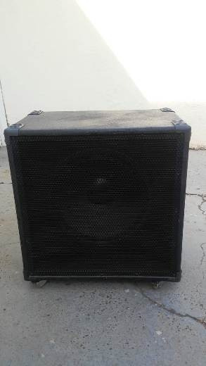 Caixa Acústica 300w Para Cabeçote De Baixo