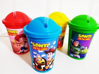Vasos Milkshake Personalizados - Toy Story (30 Unid)
