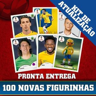 Kit Atualização Álbum Copa Do Mundo 2018 - 100 Figurinhas