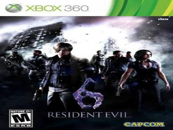 Resident Evil 6 Midia Digital Xbox 360