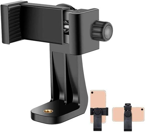 Imagen 1 de 7 de Adaptador Vertical Y Giratorio Para Trípode, Teléfono/cámara