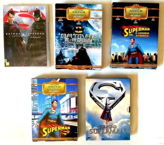 Dvd Colecao Superman + Amigos - Original