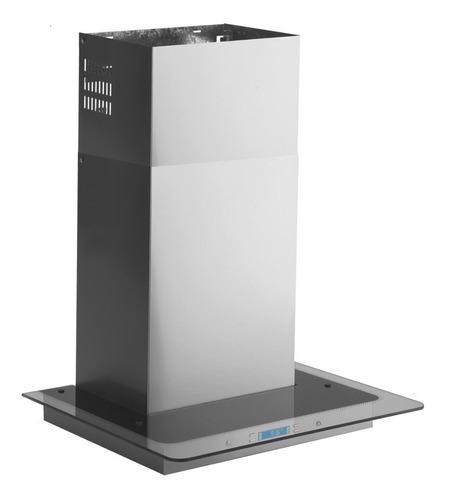 Imagen 1 de 1 de Extractor purificador de cocina Llanos LCD Mediterránea ac. inox. y vidrio isla 900mm x 61mm x 700mm acero 220V