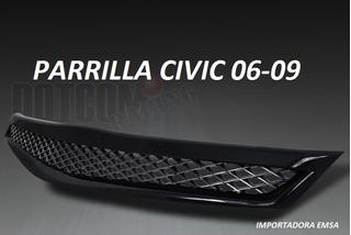 Parrilla Honda Civic 06-09 2p , Oferta