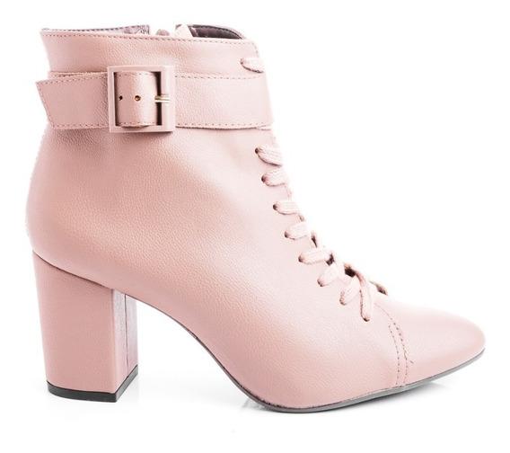 Botas Botitas Borcegos Zapatos Mujer Cierre Comfort