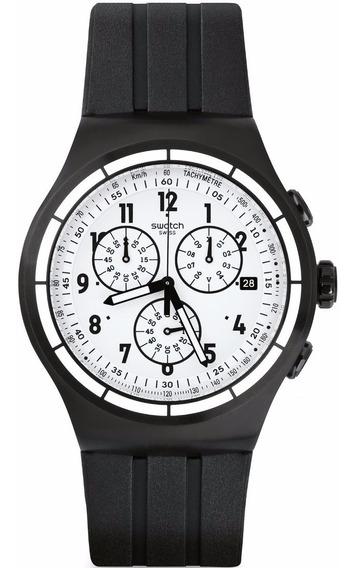 Relógio Swatch Chrono Again Yob403 - Super Promoção!