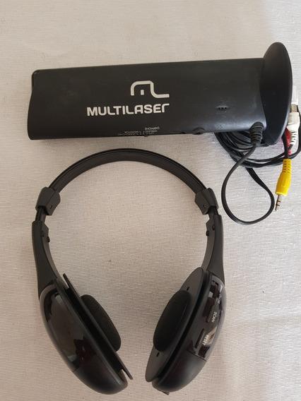 Fone De Ouvido Bluetooth Rca / P2 Tv Som Celular