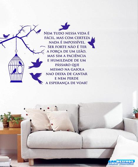 Adesivo Decorativo Frases, Pensamentos, Para Geladeira