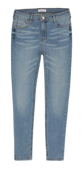 Jeans Básicos Corte Push Up Stretch De Mujer C&a 1046800
