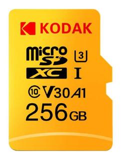 Cartão Microsd 256gb Kodak Nitendo Ultrabook Câmeras Hd Ssd