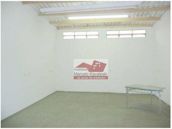 Galpão Para Alugar, 149 M² Por R$ 3.000/mês - Ipiranga - São Paulo/sp - Ga0223