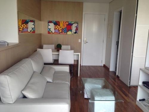 Imagem 1 de 21 de Flat Locação - Diogo Home - Mobiliado - Fl3570
