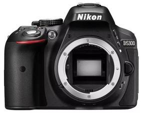Câmera,maquina Nikon Dslr D5300 (corpo) -gps-wifi