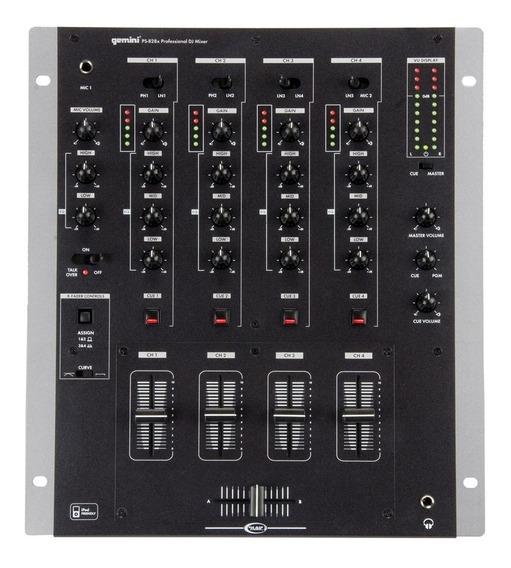 Mixer De 4 Canais Gemini Ps 828x