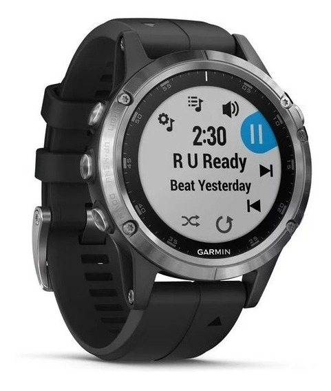 Gps Garmin Fenix 5 Plus 010-01988-11 Autorizada Garmin