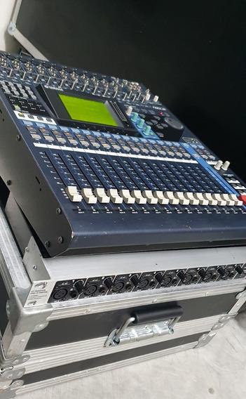 Mesa Digital Yamaha 01v 96 Com Case - Impecável Pouco Uso