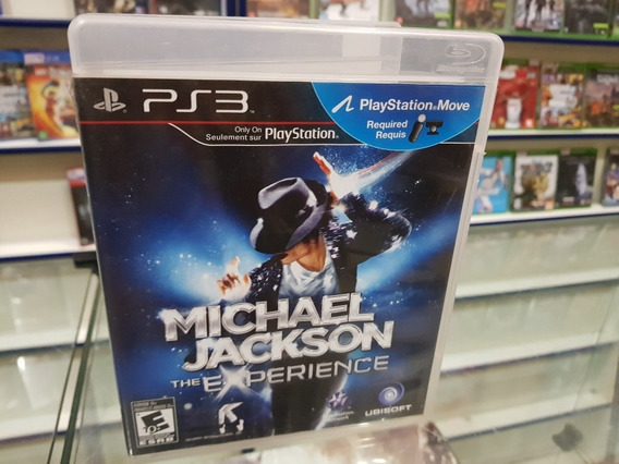 Michael Jackson The Experience Usado Ps3 Mídia Física