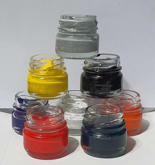 2kg Resina Cristal+catalizador+4pigmentos