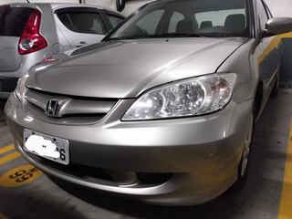 Honda Civic 2005 1.7 Lx Aut. 4p