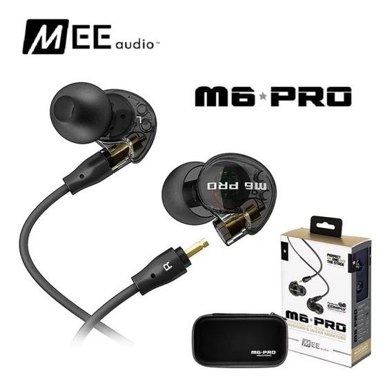 Fone De Ouvido M6 Pro Cancelamento De Ruído 3.5mm