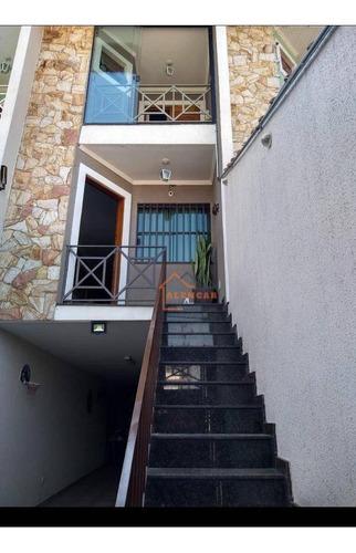 Sobrado Com 3 Dormitórios À Venda Por R$ 560.000,00 - Vila Nhocune - São Paulo/sp - So0183