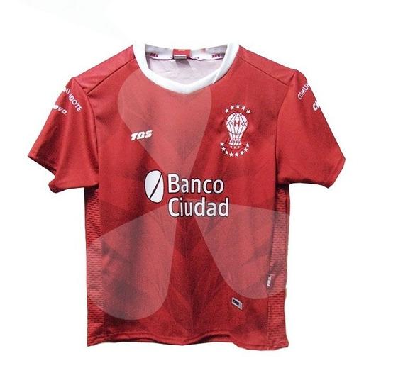 Camiseta Huracan Suplente Tbs 2018 Niños + Numero Nombre