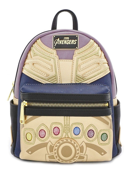 Marvel Loungefly Mini Mochila Thanos Averngers Endgame 2019