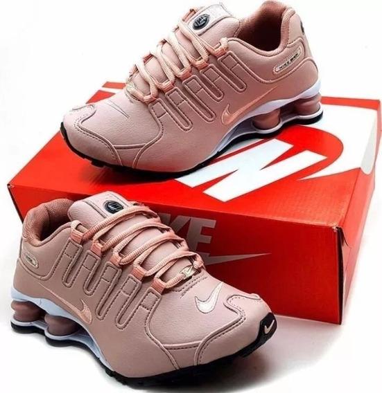 Nike Shox Nz 4 Molas - Promoção