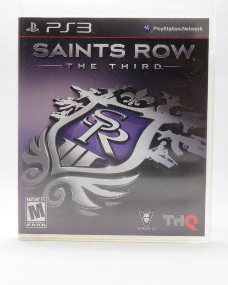 Jogo Saints Row - The Third - Ps3 - Midia Física