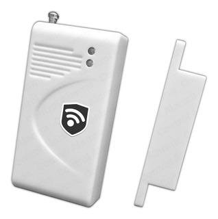 Magnetico Puerta Ventana Alarmas Inalambrica Sensor Apertura Sistema Seguridad Vecinales Casa Negocio Via Celular