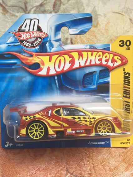 Bx124 Hw Hot Wheels 2008 First Edition Amazoom Stock Car