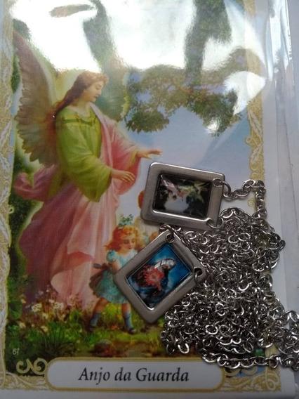 Escapulário Anjo Da Guarda Jesus Cristo Oração Proteção