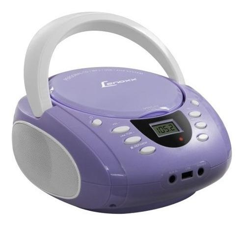 Rádio Lenoxx Bd120 Bivolt Fm Estéreo Usb Cd Mp3 Player