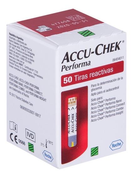 Tiras Reactivas Accu Check Performa C/100