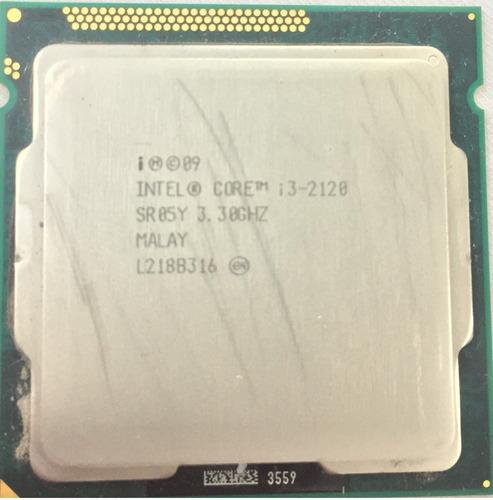 Imagem 1 de 5 de Intel Core I3-2120 - 3.40ghz Processador  2° Geração