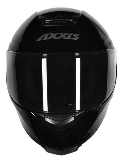 Capacete para moto integral Axxis Helmets Eagle Solid black tamanho M