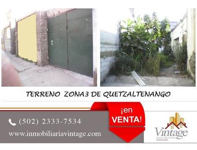 ¡¡¡ Venta !!! Terreno En Quetzaltenango