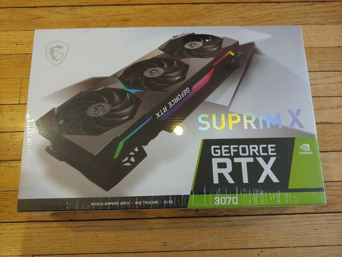 Gigabyte Geforce Rtx 3070 Aorus Master 8gb Gddr6 Gpu